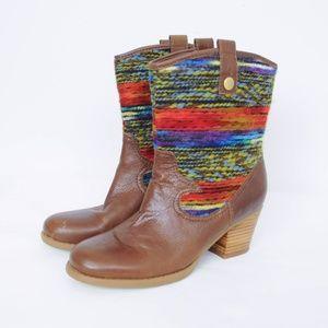 Bandolino Bdzamen Boots Southwest Tribal Western
